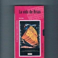 Cine: LA VIDA DE BRIAN VHS TERRY JONES EL MUNDO 2001 CINE RELIGIÓN. Lote 49998402