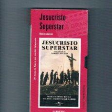 Cine: JESUCRISTO SUPERSTAR VHS NORMAN JEWISON EL MUNDO 2001 CINE RELIGIÓN. Lote 49998434