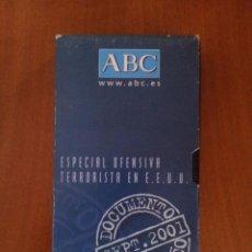Cine: DOCUMENTAL ESPECIAL OFENSIVA TERRORISTA EN EEUU SEPT. 2001 (VHS). Lote 50096533