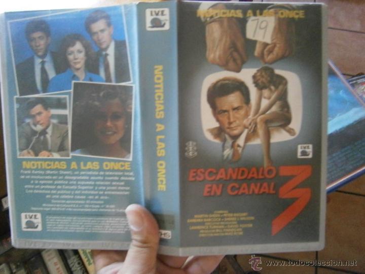 ESCANDALO EN EL CANAL-VHS (Cine - Películas - VHS)