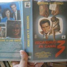 Cine: ESCANDALO EN EL CANAL-VHS. Lote 50186229