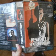 Cine: PESADILLA SIN RETORNO-VHS. Lote 50186784