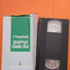 Cine: CINTA VHS HOSPITALET BARCELONA GUANYA CADA DIA. Lote 50191559