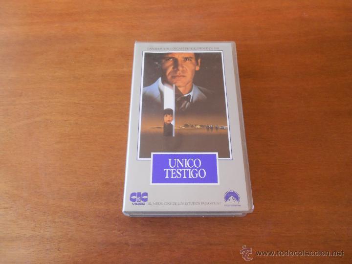 CINE VHS: ÚNICO TESTIGO (Cine - Películas - VHS)