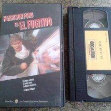 Cine: EL FUGITIVO -- VHS -- HARRISON FORD -- . Lote 50222407