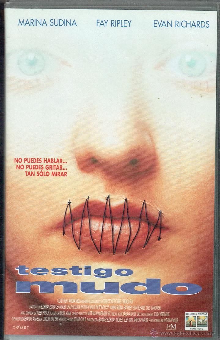 TESTIGO MUDO (Cine - Películas - VHS)