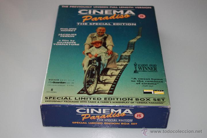 CINEMA PARADISO THE SPECIAL EDITION VIDEO VHS - SPECIAL LIMITED EDITION BOX SET (Cine - Películas - VHS)