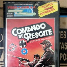 Cine: COMANDO DE RESCATE - MICHAEL COLES / ARNOLD DIAMOND. Lote 50467040