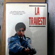 Cine: LA TRAVESTI - YVES BOISSET - ZABOU BREITMAN. Lote 50564195