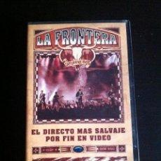 Cine: VHS - LA FRONTERA - CAPTURADOS VIVOS - SEVILLA, 1992 - CINTA MUY DIFÍCIL Y ESCASA - POLYGRAM VIDEO. Lote 129687539