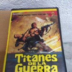 Cine: TITANES DE LA GUERRA - JO D'AMATO - LUC MERENDA. Lote 50624752