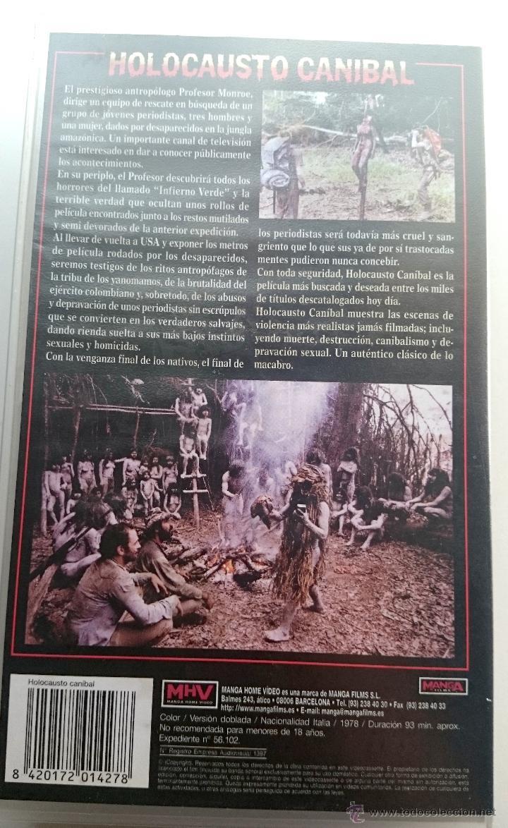 Cine: HOLOCAUSTO CANIBAL - RUGGERO DEODATO - Foto 2 - 50643553