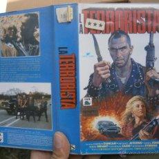 Cine: LA TERRORISTA-VHS. Lote 50864904