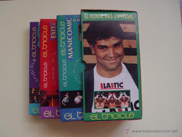 Cine: Lote 3 cintas video VHS: EL TRICICLE (Manicomic, Exit, Elastic) Warner, 1993. ¡Originales! - Foto 1 - 50943066