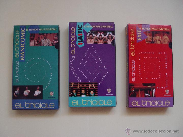 Cine: Lote 3 cintas video VHS: EL TRICICLE (Manicomic, Exit, Elastic) Warner, 1993. ¡Originales! - Foto 7 - 50943066