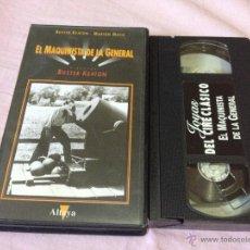 Cine: EL MAQUINISTA DE LA GENERAL VHS CLASICO. Lote 50966131