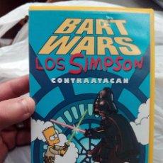 Cine: VHS LOS SIMPSONS (CAPITULO HOMENAJE A LA SAGA DE STAR WARS). Lote 51009690