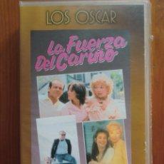 Cine: VHS LA FUERZA DEL CARIÑO (1983) DE JAMES L. BROOKS. CON JACK NICHOLSON Y SHIRLEY MCLAINE. NUEVA. Lote 51028923