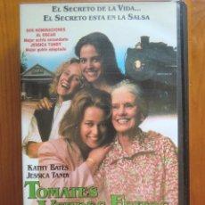 Cine: VHS TOMATES VERDES FRITOS (1991) DE JON AVNET. CON KATHY BATES Y JESSICA TANDY. ¡NUEVA!. Lote 51029256