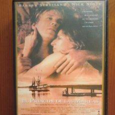 Cine: VHS EL PRÍNCIPE DE LAS MAREAS (1991) DE BARBRA STREISAND. CON NICK NOLTE. ¡NUEVA!. Lote 51029389