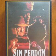 Cine: VHS SIN PERDÓN (1992) DE CLINT EASTWOOD. CON MORGAN FREEMAN Y GENE HACKMAN. ¡NUEVA!. Lote 51029848