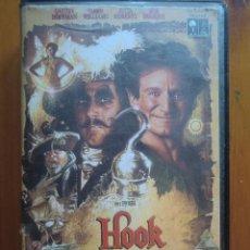 Cine: VHS HOOK, EL CAPITÁN GARFIO (1992) DE STEVEN SPIELBERG. CON ROBIN WILLIAMS Y DUSTIN HOFFMAN. Lote 51029958