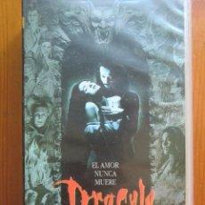 Cine: VHS DRÁCULA DE BRAM STOKER (1992) DE FRANCIS FORD COPPOLA. CON ANTHONY HOPKINS Y WINONA RYDER. Lote 51030208