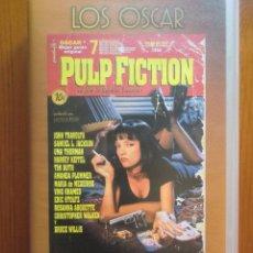 Cine: VHS PULP FICTION (1994) DE QUENTIN TARANTINO. CON JOHN TRAVOLTA Y BRUCE WILLIS. ¡NUEVA!. Lote 51030604