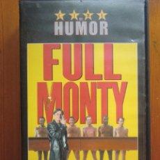 Cine: VHS FULL MONTY (1.997) DE PETER CATTANEO. CON ROBERT CARLYLE. ¡NUEVA!. Lote 51030750