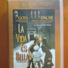 Cine: VHS LA VIDA ES BELLA (1.998) DE ROBERTO BENIGNI. CON NICOLETTA BRASCHI. ¡NUEVA!. Lote 51030960