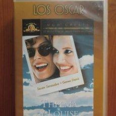 Cine: VHS THELMA Y LOUISE (1991) DE RIDLEY SCOTT. CON SUSAN SARANDON Y GEENA DAVIS. ¡NUEVA!. Lote 51029533