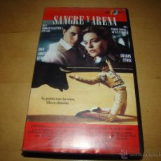 Cine: VHS - SANGRE Y ARENA. Lote 51035915