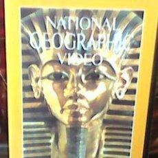 Cine: EGIPTO, BUSCANDO LA ETERNIDAD (NORRIS BROCK, 1982) - NOTIONAL GEOGRAPHIC Nº 1 - 1989 -. Lote 51081059