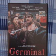 Cine: GERMINAL, VHS. Lote 194577117