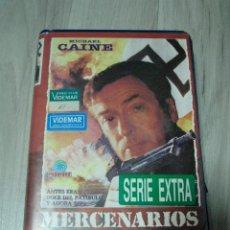 Cine: VHS MERCENARIOS SIN GLORIA. Lote 51183207