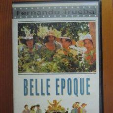 Cine: VHS BELLE EPOQUE (1.992) DE FERNANDO TRUEBA. CON JORGE SANZ Y PENÉLOPE CRUZ. COMO NUEVA. Lote 51300159