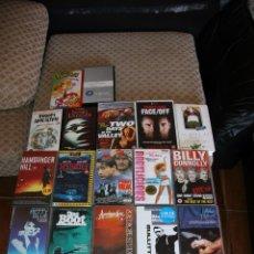 Cine: LOTE 21 VHS DIFERENTES GENEROS Y TITULOS EN INGLES. Lote 51499306