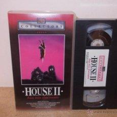 Cine: HOUSE 2 AUN MAS ALUCINANTE VHS - SECUELA OCHENTERA DE HOUSE ¡¡CINTA NUEVA USADA UNA VEZ!!. Lote 51548496