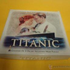 Cine: CAJA TITANIC EDICION ESPECIAL COLECCIONISTA LUJO VHS FOTOGRAFIAS - CAR190. Lote 51568973