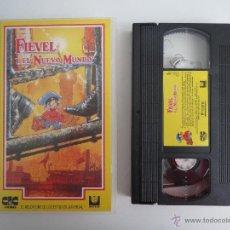 Cine: VHS FIEVEL Y EL NUEVO MUNDO. Lote 51578353