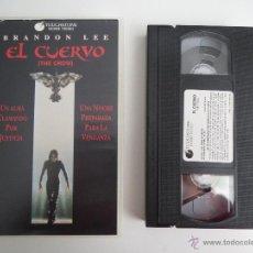 Cine: VHS EL CUERVO. Lote 51578395