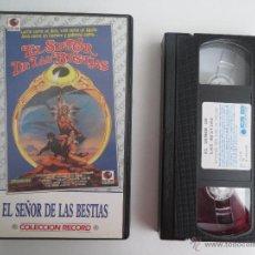 Cine: VHS EL SEÑOR DE LAS BESTIAS. Lote 51578496
