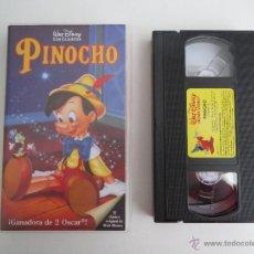 Cine: VHS DISNEY PINOCHO. Lote 51578629