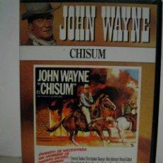 Cine: VHS CHISUM - JOHN WAYNE. Lote 51621169