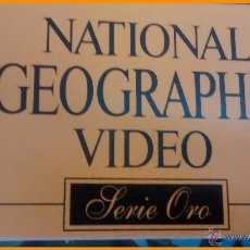 Cine: COLECCIÓN COMPLETA 50 VHS NATIONAL GEOGRAPHIC SERIE ORO, 1997. Lote 51630621