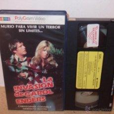Cine: LA INVASION DE CAROL ENDERS VHS - CLASICO SETENTERO DE DAN CURTIS, CON ESPIRITUS ¡¡REBAJADA UN 50%!!. Lote 45684534