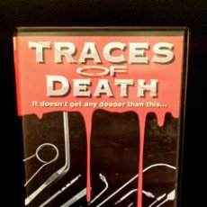 Cine: TRACES OF DEATH. Lote 51696357