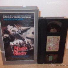 Cine: MASTER BLASTER VHS - SURVIVAL OCHENTERO DE SERIE B CON MUCHA ACCION Y VIOLENCIA ¡OPORTUNIDAD!. Lote 51717724