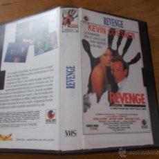 Cine: REVENGE KEVIN COSTNER VHS. Lote 51805731