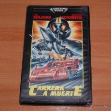 Cine: PELICULA VHS CARRERA A MUERTE DESCATALOGADA. Lote 51934040